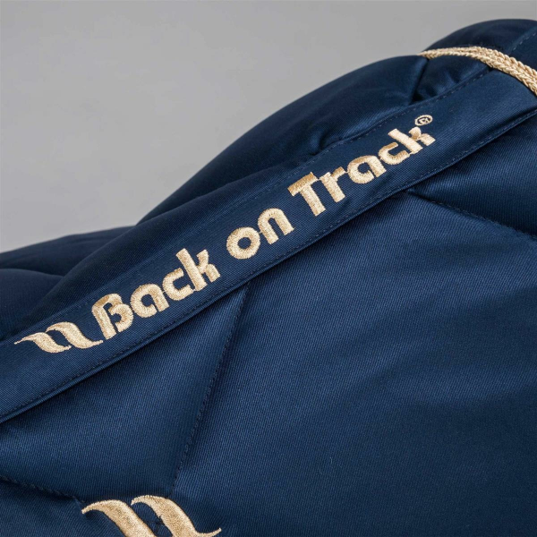 Back on Track Nights Collection Schabracke Springen Noble Blue Full